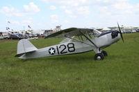 N36406 @ LAL - Taylorcraft L-2 Grasshopper