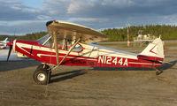 N1244A @ TKA - Hudson Air PA-18 at Talkeetna Airport