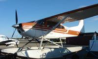 N1931Q @ FAI - Cessna 185F of Bettles Air at Fairbanks West ramp