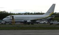 N736BP @ ANC - Conoco Phillips B737 at south ramp at Anchorage