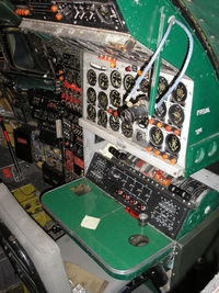N749NL @ EHLE - Flight Engineer's pannel, Aviodrome Museum - by Henk Geerlings