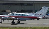N419RC @ ANC - Cessna 402C at Anchorage
