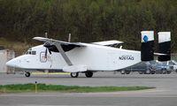 N261AG @ ANC - Arctic Circle Air's Shorts 330 on Anchorage South ramp