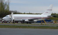 N733PA @ ANC - One of two Boeing 737s to ferry Conoco Phillips personnel around Alaska