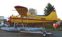 N105PB @ LHD - 1965 DHC2 Beaver at Lake Hood - by Terry Fletcher