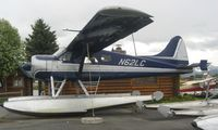 N62LC @ LHD - DHC2 Beaver at Lake Hood