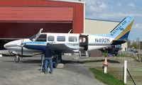 N492K @ LHD - Katmai Air's Piper Pa-31-350 at Lake Hood