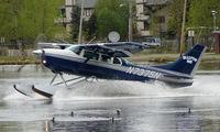 N7375N @ LHD - Ellison Air's Cessna 206 about to depart Lake Hood