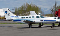 N4630N @ ANC - Cessna 402C of Arctic Circle Air on Anchorage South Ramp