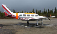 N555VS @ AK06 - Denali Air Pa-31-310 at home base in Alaska