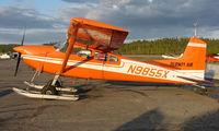 N9855X @ TKA - Cessna 185 of Hudson Air at Talkeetna