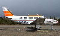 N47698 @ AK06 - Denali Air Pa-31-310 at home base in Alaska