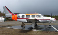 N6620L @ AK06 - Denali Air Pa-31-310 at home base in Alaska