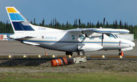 C-FKIO @ FAI - Transwest Air Mu2 at Fairbanks int - by Terry Fletcher