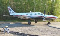 N767DM @ FAI - Warbelow Air's Pa31 at Fairbanks East Ramp