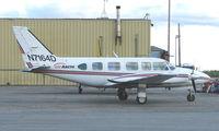 N7164D @ FAI - Pa31-350 of Air Arctic on Fairbanks East Ramp
