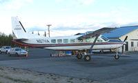 N97HA @ FAI - Wright Air Services Cessna Caravan on Fairbanks East Ramp