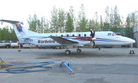 N121WV @ FAI - Warbelow Air's Beech 1900 at Fairbanks East Ramp - by Terry Fletcher