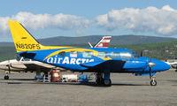 N820FS @ FAI - A bright new colour scheme for Air Arctic's Pa 31-350 on Fairbanks East Ramp
