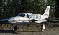 N59764 @ FAI - Warbelow Air's Pa31 at Fairbanks East Ramp