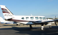 N124WA @ FAI - piper Pa-31-350 of Bettles Air on Fairbanks West Ramp - by Terry Fletcher