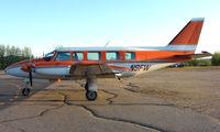 N9FW @ FAI - Wright Air Services Piper Pa31 on Fairbanks East Ramp