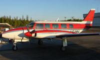 N54WA @ FAI - Wright Air Services Piper Pa31 on Fairbanks East Ramp