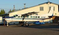 N976E @ FAI - Wright Air Services Cessna Caravan on Fairbanks East Ramp
