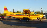 N32WA @ FAI - Wright Air Services Cessna Caravan on Fairbanks East Ramp