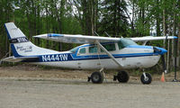 N4441W @ UUO - Denali Flying Services Cessna U206G at Willow Airport