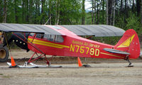 N7579D @ UUO - Susitna Air Services Piper Pa-18-150 at Willow Airport