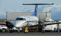 N1105G @ ANC - Everts Brasillia on home ramp at Anchorage