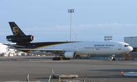 N256UP @ ANC - UPS MD11 at Anchorage