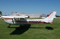 N109CF @ 0C8 - Rental 152 at Cushing Field - by William Hamrick