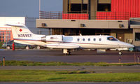 N359EF @ ANC - Airlift Northwest's Learjet on Anchorage South ramp