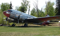43-15200 - This Douglas C-47 is preserved at the Alaskan Transport Museum in Wasilla , Alaska