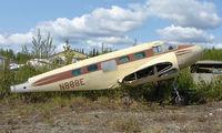 N888E @ BGQ - A sad sight to see this C-45G  (ex 51-11698) sitting derelict at Big Lake Airport in Alaska
