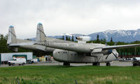 N1394N @ PAQ - Fairchild C-119F Flying Boxcar sits at Palmer Municipal  , ec US Navy 131673