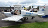N19ET @ EGTB - Aircraft on static display at AeroExpo 2008 at Wycombe Air Park , Booker , United Kingdom