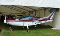 G-SASI @ EGTB - Aircraft on static display at AeroExpo 2008 at Wycombe Air Park , Booker , United Kingdom
