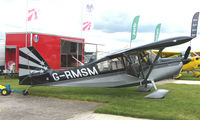 G-RMSM @ EGTB - Aircraft on static display at AeroExpo 2008 at Wycombe Air Park , Booker , United Kingdom
