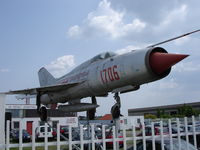 1706 - Mig-21 used as advertising space in Gerasdorf near Vienna - by Amadeus