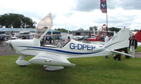 G-DPEP @ EGTB - Aircraft on static display at AeroExpo 2008 at Wycombe Air Park , Booker , United Kingdom