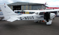 G-NOUS @ EGTB - Aircraft on static display at AeroExpo 2008 at Wycombe Air Park , Booker , United Kingdom