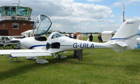 G-UILA @ EGTB - Aircraft on static display at AeroExpo 2008 at Wycombe Air Park , Booker , United Kingdom
