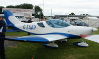 G-ZAAP @ EGTB - Aircraft on static display at AeroExpo 2008 at Wycombe Air Park , Booker , United Kingdom