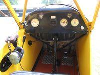 N2875Y - Cub cockpit - by Tom Cooke