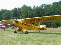 N42481 - J-3 Cub - Steele Field NC - by Tom Cooke