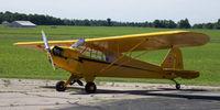 N78407 @ 5I4 - N78407 1947 Piper J3C-65 Cub - by Susan Birrell Post