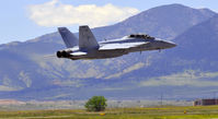 166675 @ KBJC - F-18 Cleaned up and the sky is yours - by John Little